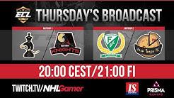 Checkmate vs Gotham Knights & Farjestad BK vs Vesa Pompa HC - ECL 10 (Elite) | NHL 20 EASHL 6s