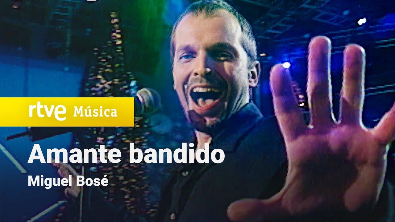 """Miguel Bosé - """"Amante Bandido"""" (Con la Primera al 2000)"""