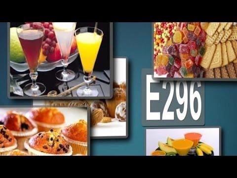 E 296 - яблочная кислота. Кому вредна эта пищевая добавка?