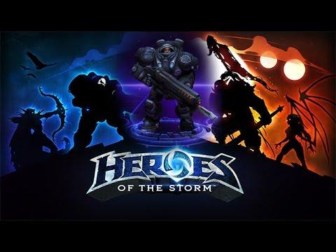 видео: heroes of the storm - raynor 08.07.14 (3)