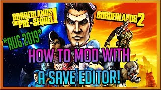 how to Download & Use Gibbed Save Editor! *PC ONLY* (Borderlands 2 & The Pre-Sequel!)