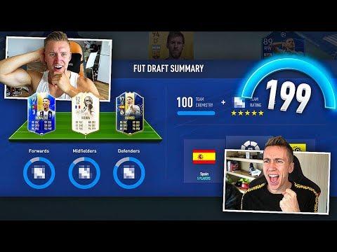 Highest Rated FIFA 19 FUT DRAFT vs MINIMINTER!