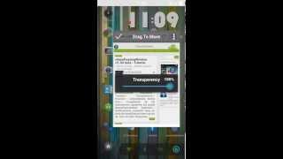 Aplicaciones flotantes como en el LG® G QSlide para cualquier versión-RC de Android