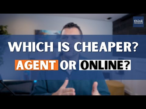 Is it cheaper to buy car insurance online or through an agent?
