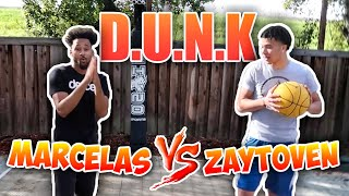 KRAZY GAME OF D.U.N.K VS MARCELASHOWARD😱🔥