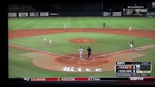 Texas Baseball vs Texas A&M June1 2014