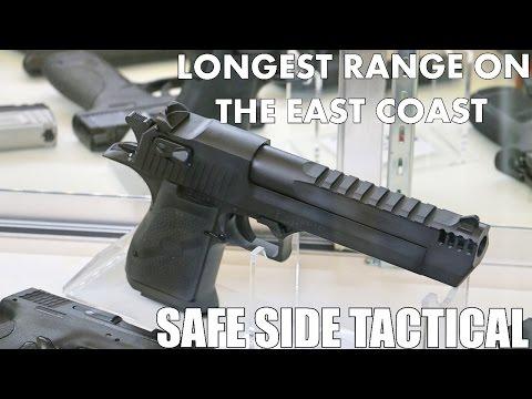 Safe Side Tactical Range Tour (Longest Indoor Range on East Coast!)