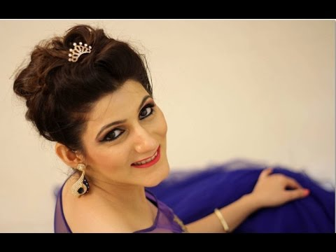 Best Hairstyle With Gown Youtube