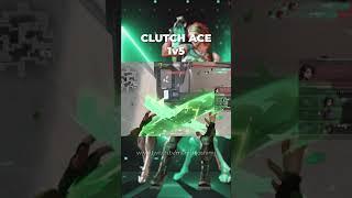 CLUTCH ACE 1V5/Valorant