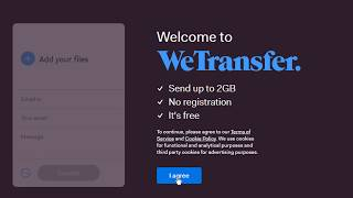 How To Use Wetransfer File Transfer Service