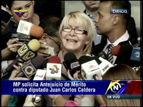 Fiscal General anuncia antejuicio de mérito a Juan Carlos Caldera