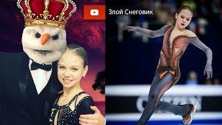 Александра Трусова ЗАПУГАЛА ВСЕХ на Тренировке в Японии - Japan Open 2019