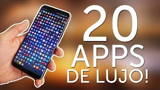 20 APPS DE LUJO! PARA ANDROID 2017 - INDISPENSABLES