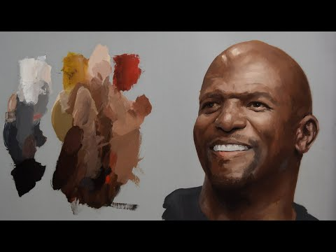 How To Mix Dark Skin Colors. Zorn's Palette. Full Demonstration.