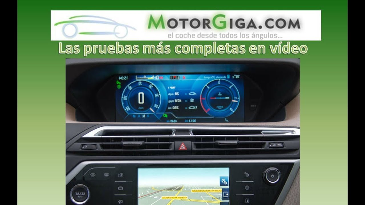 citroen grand c4 picasso 2014 sistema infotainment youtube. Black Bedroom Furniture Sets. Home Design Ideas