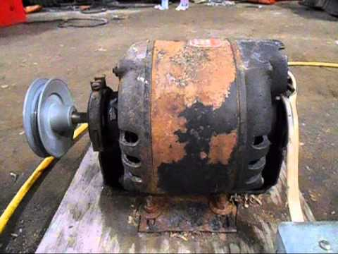 Emerson 2hp Electric Motor Wiring Diagram Delco 1 4 Hp Electric Motor Youtube