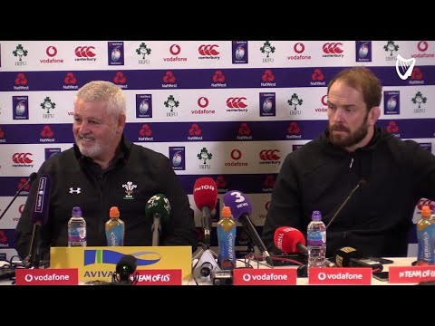 WATCH: 'I apologise to Joe' - Wales coach Warren Gatland after Ireland defeat