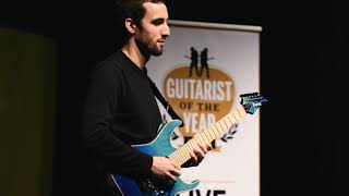 Guitarist of the Year 2018 winner Gabriel Cyr