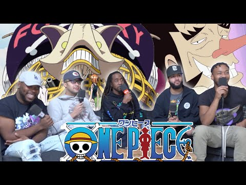 THE FOXY PIRATES!! One Piece Ep 207/208 Reaction/Review