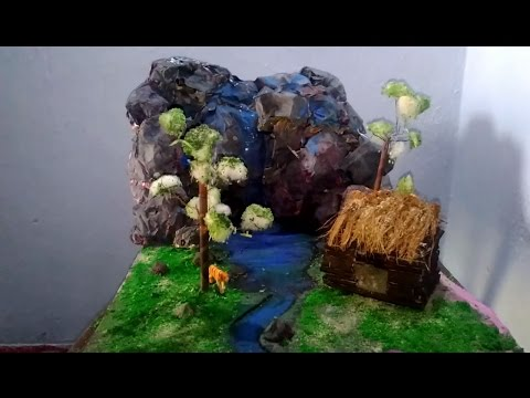 how to make forest model - without spending much money and time,-school project