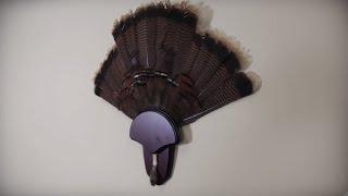 hs strut turkey tail beard mounting kit video