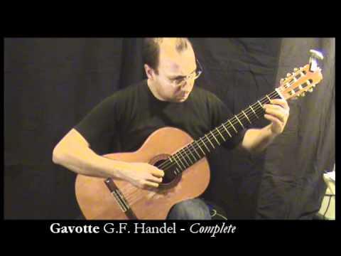 ABRSM Guitar Grade 1 Gavotte - complete