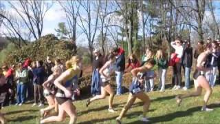 State College Girls XC - State Finals, 2010