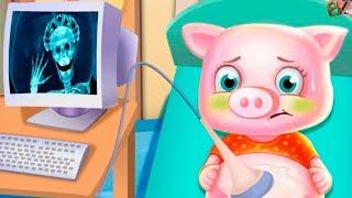 БОЛЬНИЦА Для Животных Лечим Животных Мультик Игра Для Детей
