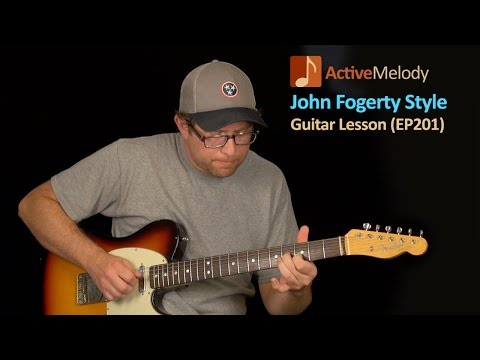 John Fogerty Guitar Lesson - CCR (Creedence Clearwater Revival) - EP201