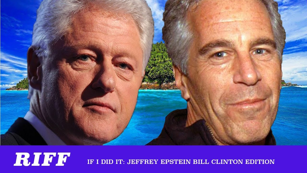 images of bill clinton and jeffrey epstein