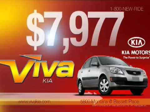 Viva Kia $7,977 Kia Rio