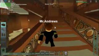 Roblox Titanic the death of Mr.Andrews part 1