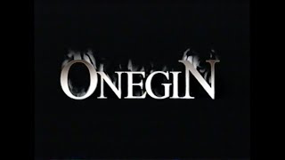 ONEGIN MOVIE TRAILER [VHS] 1999