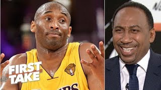 Stephen A. reacts t๐ Kobe saying he would have won 12 rings if Shaq were in shape | First Take