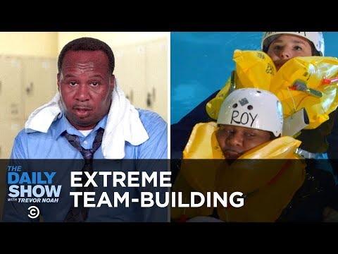 Extreme Team-Building in Trump's Divided America | The Daily Show