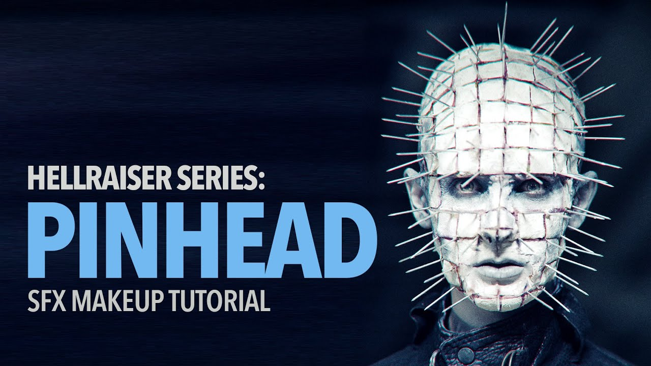 Hellraiser pinhead special fx makeup tutorial youtube baditri Images