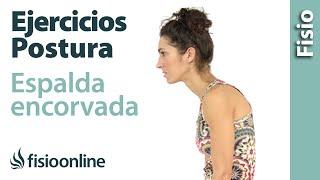 Cómo corregir la postura de la espalda encorvada mediante ejercicios, automasajes y estiramientos