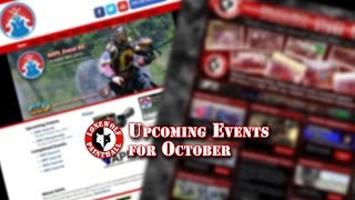 Upcoming Events October 2015 Lone Wolf Paintball Michigan