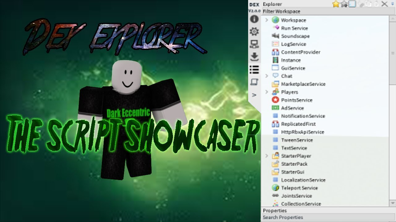 Roblox Script Showcase Episode#661/Dex Explorer 2 0