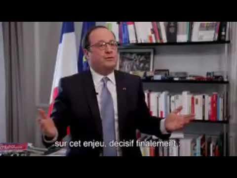 Européennes 2019: l'appel de François Hollande aux lycéens