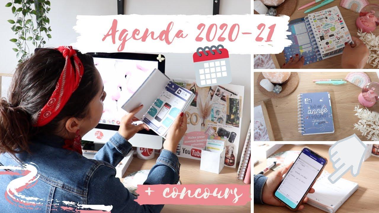 AGENDA 2020-21 😍 LEQUEL CHOISIR ? REVUE #1 📖 AGENDA OXFORD 📆 ⎜Merry