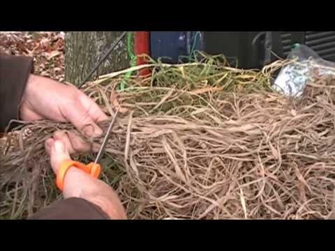 Hunting Blinds How To- Brush Out Your Layout Blind