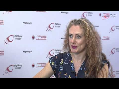 """Interview with Sinead Mac Manus at the """"digitising europe"""" summit in Berlin"""