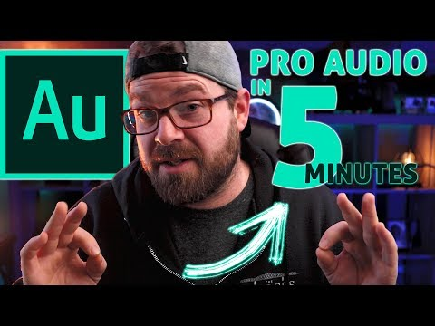Mastering Your Audio in Under 5 Minutes | Adobe Audition Tutorial - Get the best sound quality