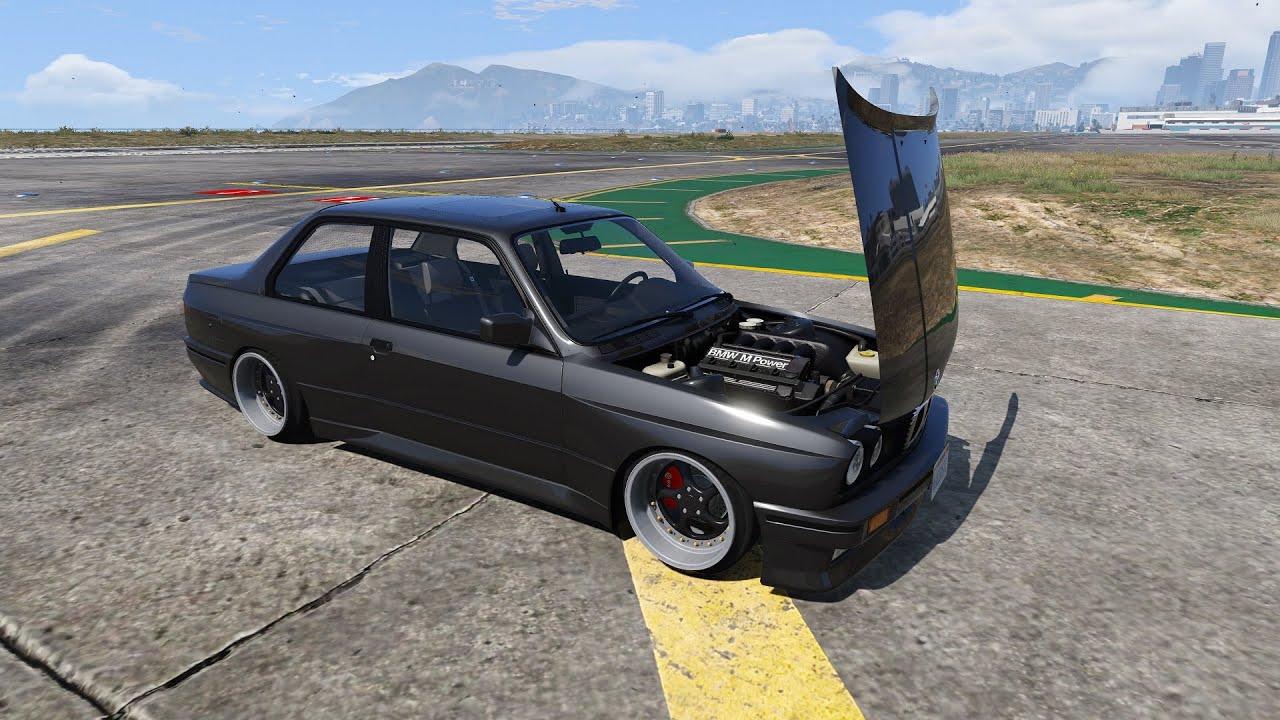 GTA 5 - 1991 BMW M3 E30 - YouTube
