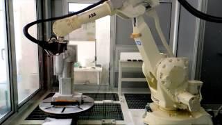 ABB Robotics - Milling Sculpture in Natural Stone
