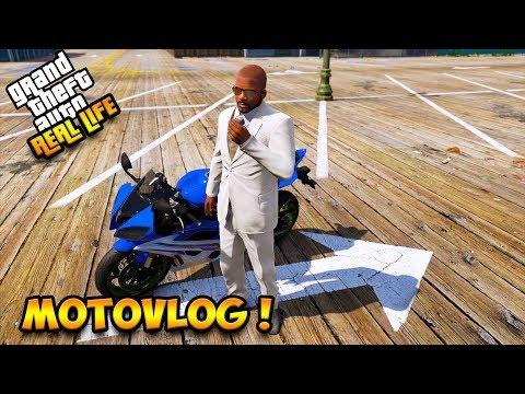 SULTAN MOTOVLOG NAIK YAMAHA R6 !! || GTA 5 MOD DUNIA NYATA (GTA 5 REAL LIFE)