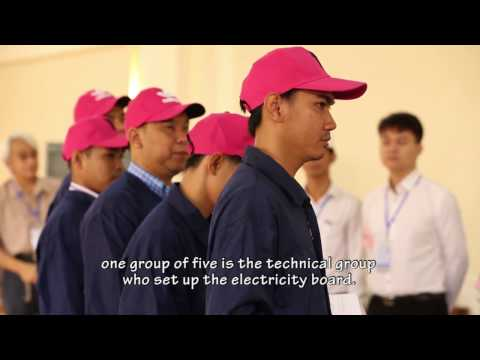 TVET Cambodia - Skills Assesors Training on Power Distribution and Control Panel Assembly