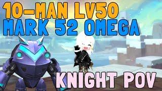 Maple Story 2 (KR) - Lv50 10-Man Raid Mark 52 Omega ; Knight POV ~!