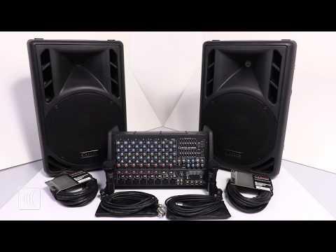 Carvin Audio XP1000L-PM12 Sound System